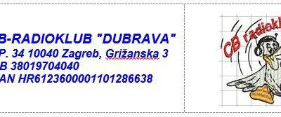 """39. natjecanje CB-operatora, CB-radioklubova, CB-sekcija i ostalih korisnika CB radijskih postaja s međunarodnim sudjelovanjem """"DUBRAVA 2020"""""""