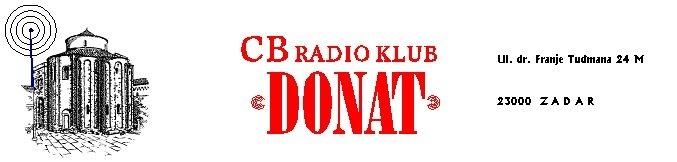 "Radioklub ""DONAT"" Zadar ljetni CB kontest 05. Rujna  2020."